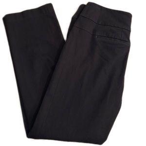 Ann Taylor Loft Black Julie Straight Pants Sz 4